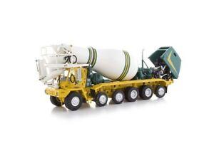 "Oshkosh S-Series Cement Mixer - ""GREEN & GOLD"" - 1/50 - TWH #075-01214"