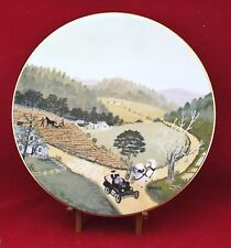 Grandma Moses The Old Automobile Memories of America Collector Plate COA Case