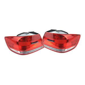 For BMW E92 328xi Pair Set of Left & Right Outer Tail Lights For Fenders ULO OEM