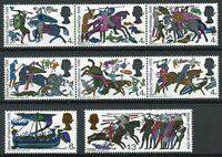 GB 1966 MNH Battle of Hastings Horses Ships 8v Set Historical Events Stamps