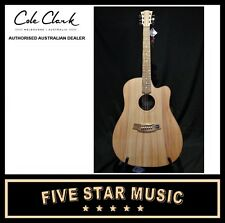 COLE CLARK FAT LADY 1 BUNYA TOP MAPLE BACK & SIDES W PICKUP AND CASE FL1EC-BM