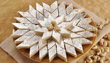 Kaju Katli Cashew Barfi Kaju Katari India Dessert 1Kg Veg Handmade Vegan Sweet