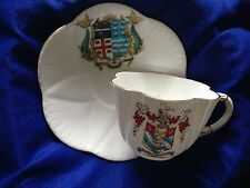 ANTIQUE FOLEY CHINA CUP AND SAUCER CRESTED Torquay