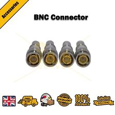 BNC Screw/Twist on Spring Connector Plug for Coaxial RG6 & RG59 CCTV Camera UK