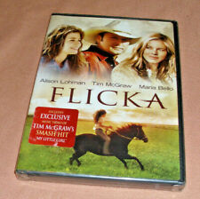 FLICKA (DVD, 2009 Tim Mcgraw  Misic Vidio My Little Girl, Dual Side) NEW (NWOT)
