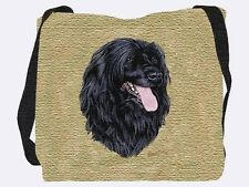 Woven Tote Bag - Portuguese Water Dog 3379