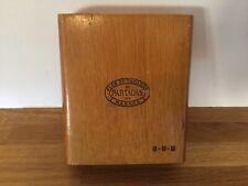 Partagas 8-9-8 Wood Cigar Box EMPTY
