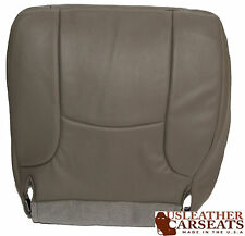 2002-2005 Dodge Ram Driver Side Bottom Synthetic Leather Seat Cover Gray