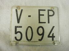 SPAIN VALENCIA LAMBRETTA VESPA MOPED MOTORCYCLE 1970s # V-EP 5094 LICENSE PLATE