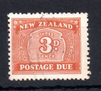 New Zealand 1939 3d Postage Due D44 fine used WS11032