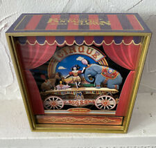 Ikecho Clown Spieluhr Circus beweglich Selten Designobjekt Vintage Handarbeit