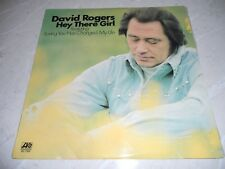 "David Rogers ""Hey There Girl"" 1974 LP Folk Oz Atlantic SD7306 NM"