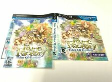 (MANUAL AND ARTWORK ONLY) (NO GAME) PS3 - Rune Factory: Tides of Destiny
