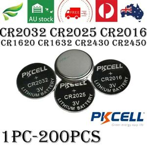 CR2032 CR2025 CR2016 CR1620 CR1632 CR2450 CR2430 Button Battery Exp 2025 PKCELL