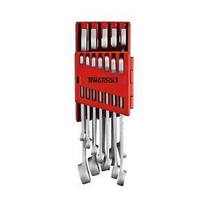 Teng Tools 8512A 12 Piece Metric Anti Slip Combination Spanner Set