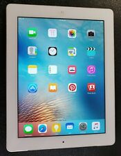 Apple iPad 3rd Gen 64GB,  WHITE with Red Case, -  iOS 9.3.6
