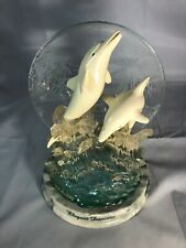 New ListingDolphin Elegant Dancers Bradford Exchange Limited Collector Plate Lights Up