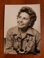 Christa Ludwig Opera Lirica Autografo mezzosoprano