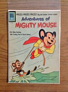 Adventures Of Mighty Mouse # 151 1961 Dell Comics - Low Grade