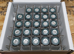 21700 Battery Insulator 280pc DARK GREY Adhesive ebike DIY Powerwall US SALES