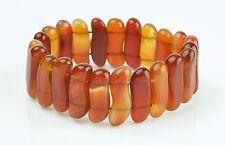 Beautiful Vintage Honey Amber Stretch Bracelet