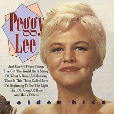 What Is This Thing Called Love   *  Peggy Lee