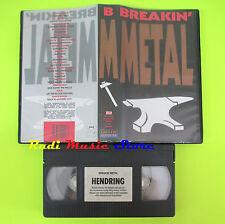 VHS BREAKIN' METAL CASTLE HENDRING BMG hen 2 016 70 MINUTI dvd cd lp mc(VM7)