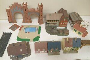 Faller kibri jouef lot de diverses maquettes en HO