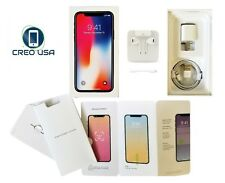 Apple iPhone X Box Retail Original Box With ALL OEM Accessories Options