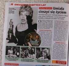 Shelley Winters  ILONA OSTROWSKA mag.FRONT cover Poland