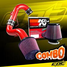11-16 Scion tC 2.5L 4cyl Red Cold Air Intake + K&N Air Filter