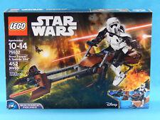 Lego Star Wars 75532 Scout Trooper & Speeder Bike Buildable Figure 452pcs 2017