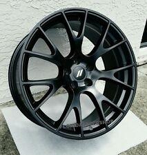 "Dodge Hellcat Satin Matte Black Wheels Rims 20x9"" SET Challenger Charger 300c"