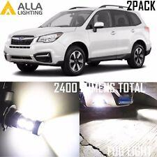 Alla Lighting Fog Light H11 Super White LED Bulb Driving Lamp for Subaru Legacy