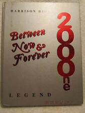 2001 Yearbook Harrison High School Evansville IN With Signatures