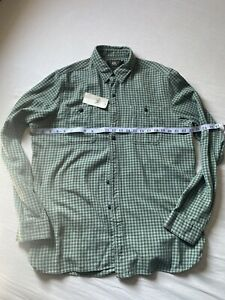 RRL Plaid Mini Check Shirt BNWT Large