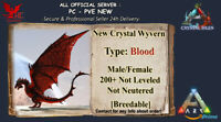 Ark Survival Evolved PC - PVE NEW - NEW BLOOD WYVERN - Level 200+ [Breedable]