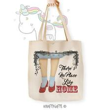 Wizard of OZ Dorethy Ruby Shoes Canvas Tote Shopping Bag for Life Shopper NC702