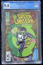 Green Lantern #51 CGC 9.4 - RARE 2nd Print DC Universe Logo DCU Variant 1994 🔥