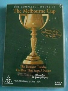 THE COMPLETE HISTORY OF THE MELBOURNE CUP DVD NEW SEALED All Regions