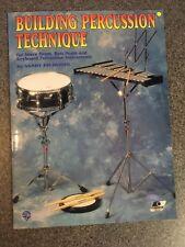 Building Percussion Technique - Sandy Feldstein Book !