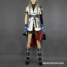 Final Fantasy XIII FF13 Lightning Cosplay Costume Suit Full Set Custom