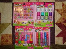 New Shopkins Lot (4) Lip Balm (6) Lip Gloss (6) Polish (4) Press-On Nails (4pk)