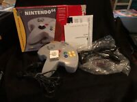 Nintendo 64 Gray Wired Super pad 64 Controller New In Opened Box See Pictures