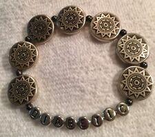 Diabetic bracelet.....handmade & Expandable