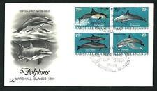 Delfini ( Dolphins ) - Isole Marshall - Quartina del 1984