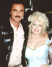 Dolly Parton Burt Reynolds 8x10 photo #U7202