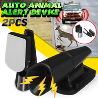 2pcs Universal Car Truck Deer Alert Device Whistle Animal Wildlife Warning Alarm