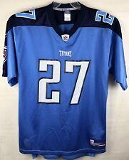 Eddie George #27 Tennessee Titans NFL Super Bowl Reebok Jersey Xl