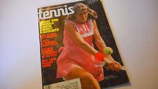 Tracy Austin  Covers Tennis Magazine December 1977
